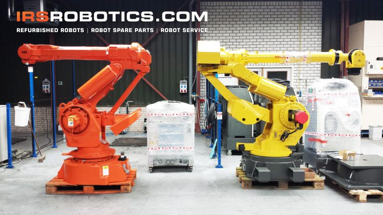 Refurbished used robots, robot spare parts and robot service