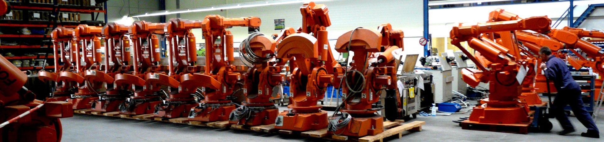 Roboter-Ersatzteile