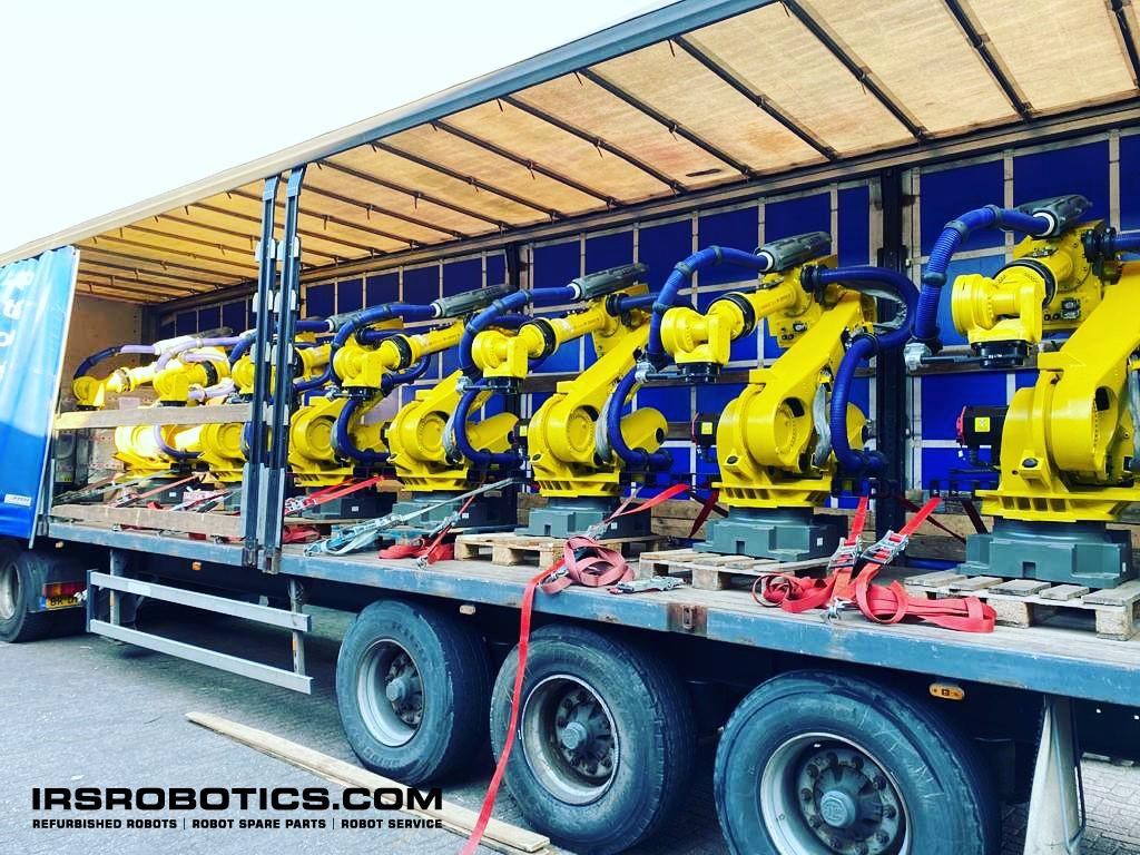 IRS Robotics refurbished robots - we ship worldwide
