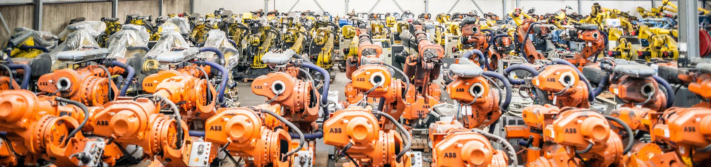 IRS Robotics refurbished robot stock